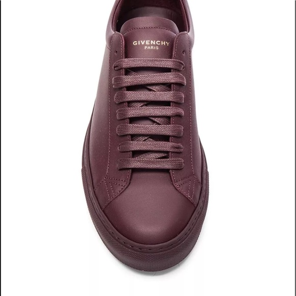 Givenchy Urban Knots Burgundy Leather